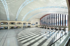 Harbin West Railway Station. This picture shows the waiting hall of Harbin West Railway Station royalty free stock photo
