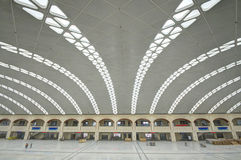 Harbin West Railway Station Stock Photo