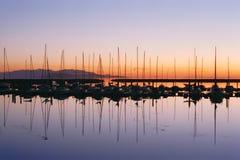 Harbor. At Great Salt Lake Royalty Free Stock Images