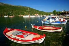 Harbor at the Aegean Sea Royalty Free Stock Image