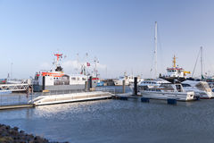 Harbor on Amrum Royalty Free Stock Images