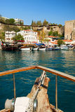 Harbor in Antalya Royalty Free Stock Photos