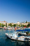 Harbor in Antalya. Harbor with boats in Antalya Turkey Royalty Free Stock Photography