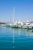 The harbor Antibes, France Royalty Free Stock Photos