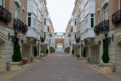 Harbor Area in Fells Point in Baltimore, Maryland stock photography