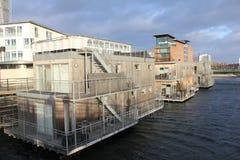 The Harbor area in Malmo. Sweden Stock Photos