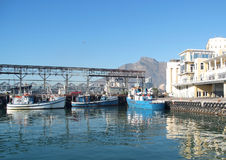 Harbor At Cape Town Royalty Free Stock Photography