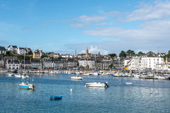 Harbor of Audierne (France) Royalty Free Stock Photography