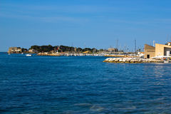 Harbor of Bandol. In summer Stock Image