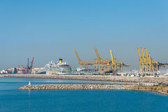 Harbor of Barcelona Royalty Free Stock Photography