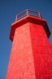 Harbor beacon Stock Image