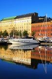 Helsinki harbour Royalty Free Stock Photo