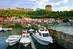 Harbor Biarritz Royalty Free Stock Image