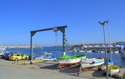 Harbor boats Tsarevo Bulgaria Royalty Free Stock Photography