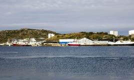 Harbor of Bodo Stock Photography