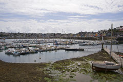 Harbor in Bretagne Royalty Free Stock Photography