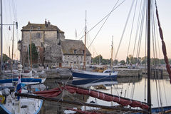 Harbor in Bretagne Stock Photography