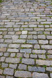 Harbor brick. Bricks at harbor of Boston, MA, USA Stock Image