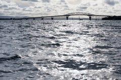Harbor bridge in Auckland, New Zealand Stock Photos