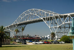 Harbor bridge in Corpus Christ Royalty Free Stock Photo