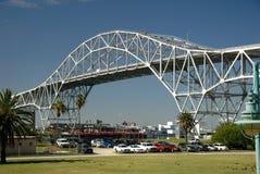 Harbor bridge in Corpus Christ Royalty Free Stock Photo