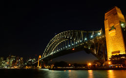 Harbor bridge Stock Photography