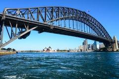Harbor bridge and Opera house Royalty Free Stock Image