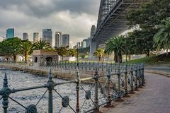 Harbor bridge Sydney stock image