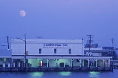 Free Harbor By Moonlight, Crisfield, Maryland Royalty Free Stock Photos - 52264668