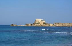 Harbor at Caesarea Stock Image