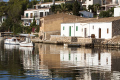Harbor of Cala Figuera, fishermen village, Mallorca. Spain Royalty Free Stock Image