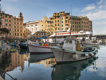 Harbor of Camogli Stock Photography