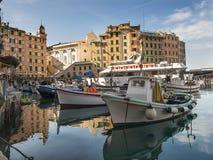 Harbor of Camogli Stock Photography