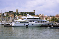 Harbor of Cannes Royalty Free Stock Images