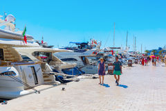 Harbor of Cannes, Cote dAzur, France Royalty Free Stock Photography