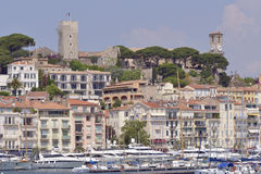 Harbor of Cannes in France Royalty Free Stock Photo