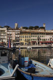 Harbor of Cannes, French Riviera, France Stock Image