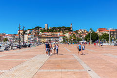 Harbor of Cannes, French Riviera, France Royalty Free Stock Photos