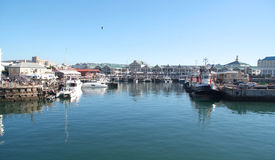 Harbor at Cape Town Stock Images
