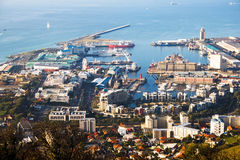 Harbor of Cape Town. Africa Stock Image