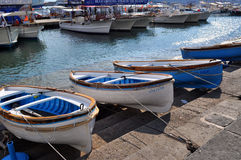 Harbor in Capri, Italy Royalty Free Stock Photography