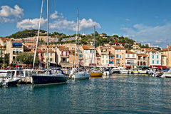 Harbor of Cassis, France Royalty Free Stock Photos