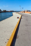 Harbor of Cesenatico Stock Photo