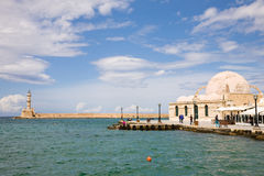 Harbor Chania, Crete Royalty Free Stock Photos