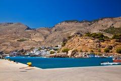 Harbor of Chora Sfakion Stock Photography