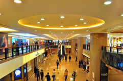 Harbor city shopping mall, hong kong Royalty Free Stock Photo