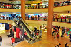 Harbor city shopping mall, hong kong Stock Images