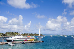 Harbor Clifton Union Island St. Vincent Royalty Free Stock Photo