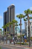 Harbor Club Condominiums Stock Images