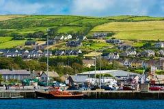Harbor at the Coast of Dingle in Ireland Royalty Free Stock Photography